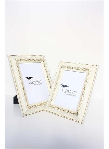 Raven Home Studio Rhs Country Resim Çerçevesi 2 Li Çerçeve&Albüm Beyaz One Sıze Renkli